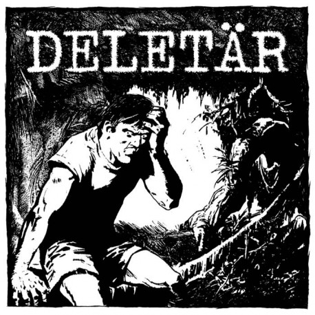 DELETÄR - s/t - LP
