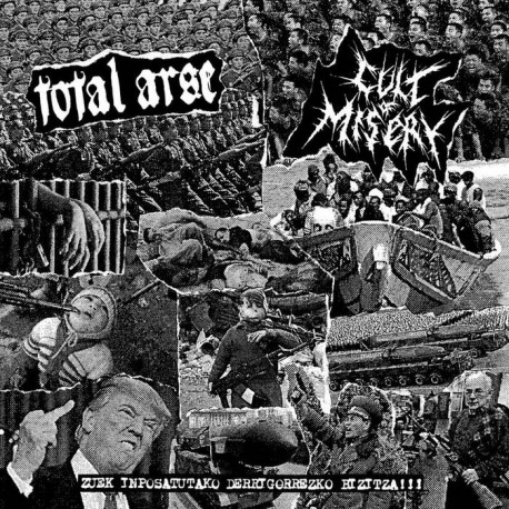 CULT OF MISERY / TOTAL ARSE - Split 7""