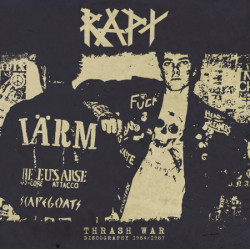 "RAPT ""Thrash war /discography 1984-1987"" LP+7""+CD"