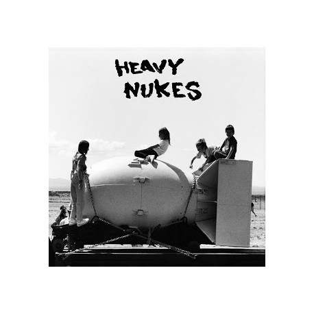 "HEAVY NUKES / EARTH CRUST DISPLACEMENT - Split 7"""