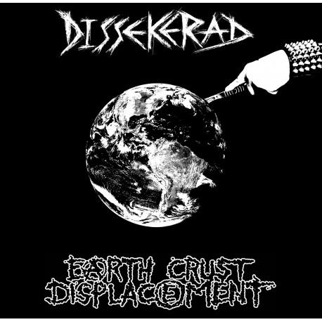 "DISSEKERAD / EARTH CRUST DISPLACEMENT - Split 7"""