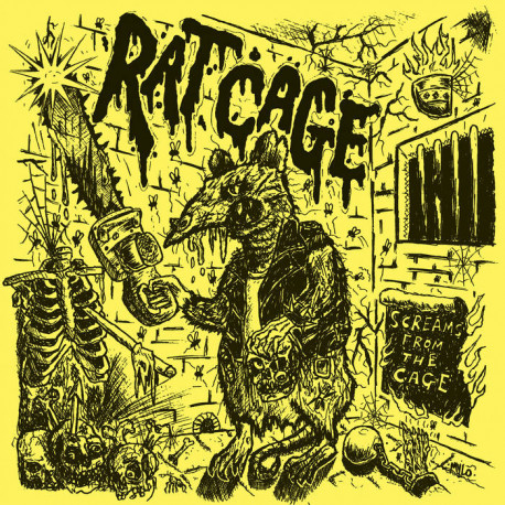 RAT CAGE - Screams From The Cage LP