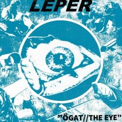 "LEPER - Ögat//The Eye EP 7"""